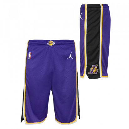Lakers Swingman Jr lasten shortsit ryhmässä KORIPALLO / LASTEN TEKSTIILIT / Shortsit @ 2WIN BASKETBUTIK (EZ2B7BAFC-LAKERS)