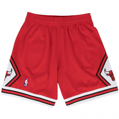 Bulls Swingman shortsit ryhmässä KORIPALLO / NBA / Shortsit @ 2WIN BASKETBUTIK (SMSHGS18223-BULLS)